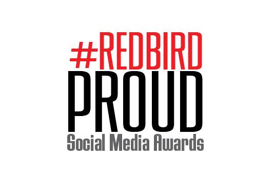 RedbirdProud Social Media Awards logo