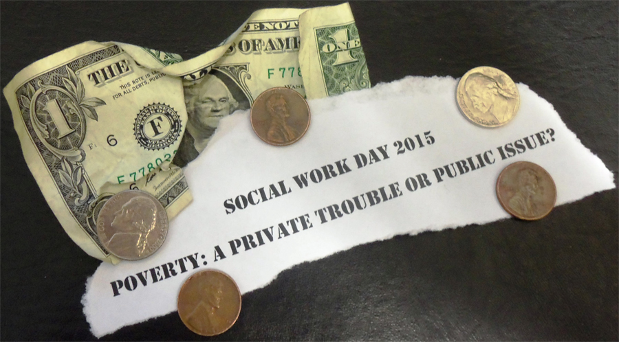 image of the Social Work Day logo