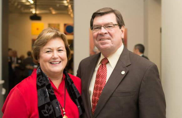 Photo of Pres. and Mrs. Larry Dietz