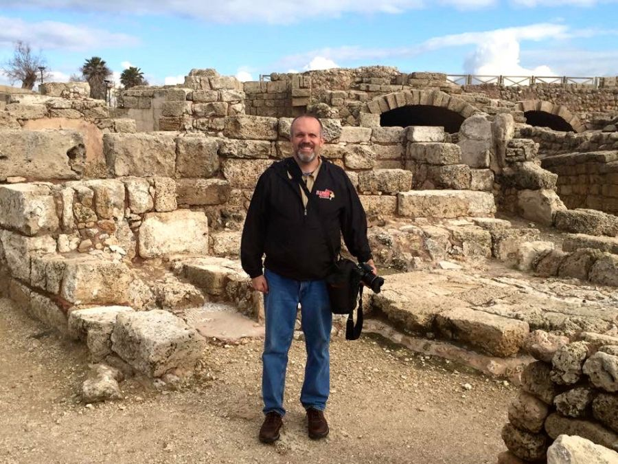 photo of Michael Gizzi in Israel