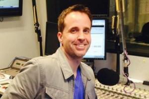Mark Grote at a mic
