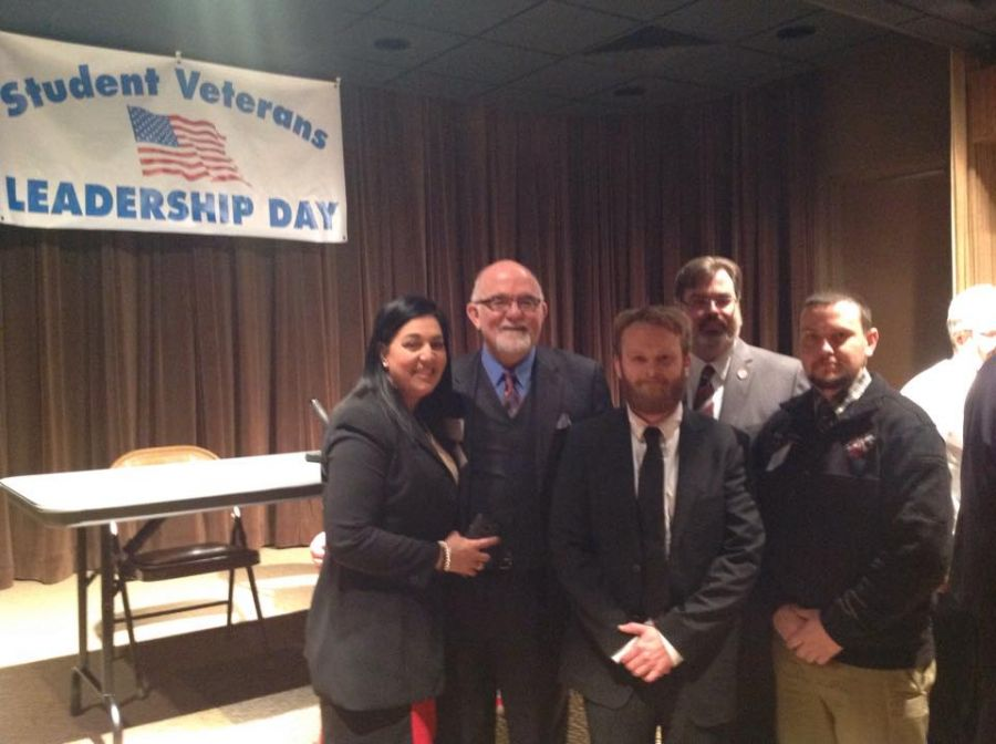 Students at veterans event in Springfield