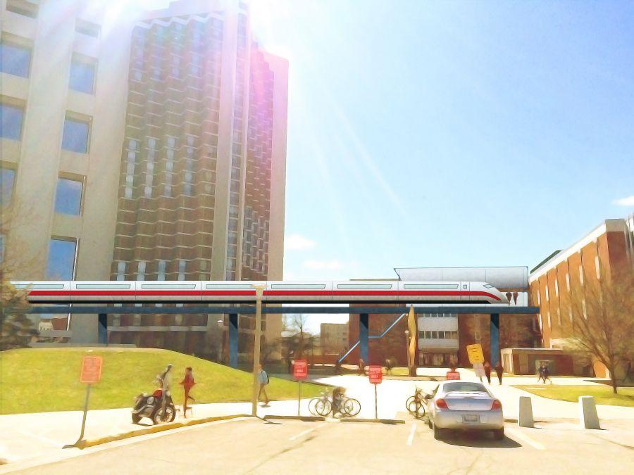 Monorail rendering