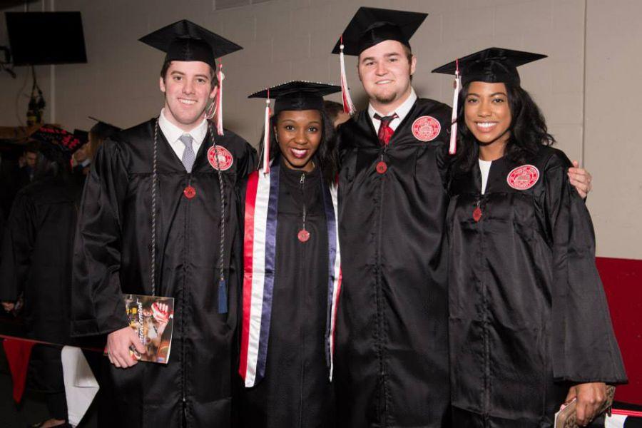 ISU graduates at ceremony
