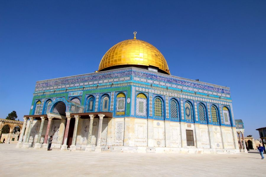 image of Dome of the Rock in the Old City of Jerusalem.