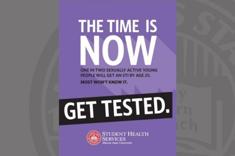 STI testing poster
