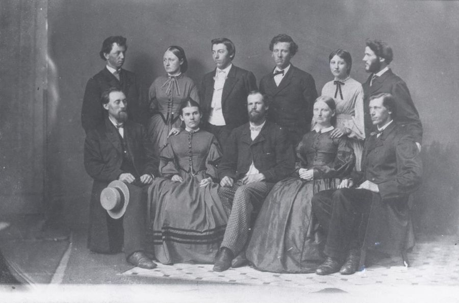 first graduating class of Illinois State Normal University