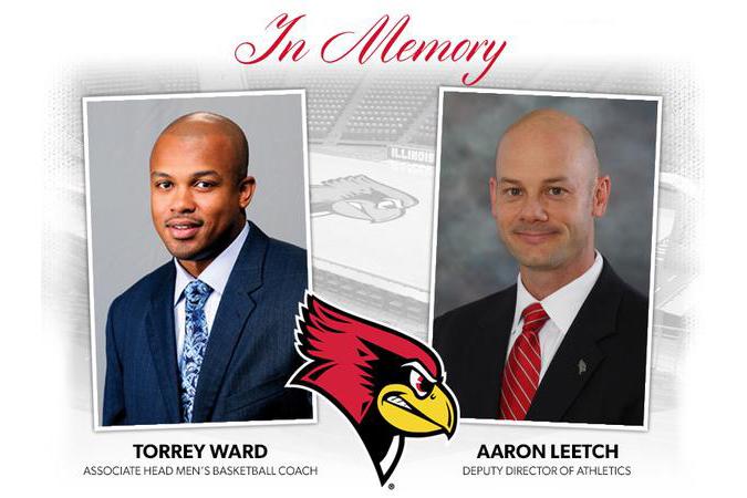 Torrey Ward and Aaron Leetch