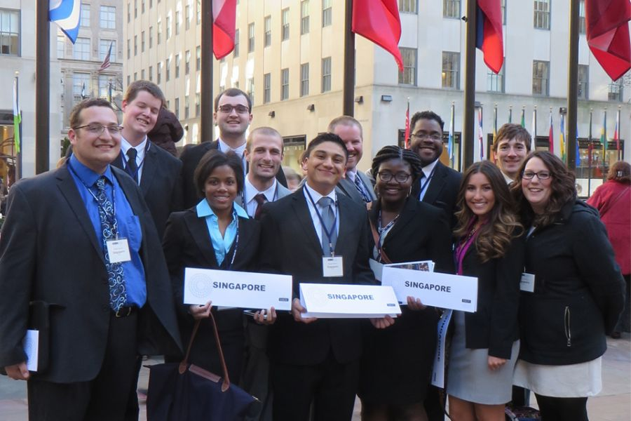 Illinois State Model UN team
