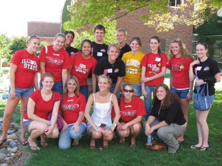 Student April Council group shot