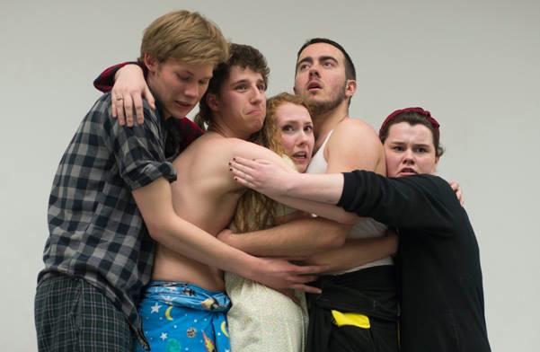 image of members of the award-winning Improv Mafia