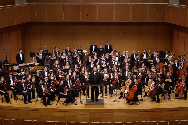 photo of Illinois State University Symphony Orchestra