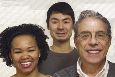 Christina Pierce, Yamato Hiromatsu, and Carlos Parodi