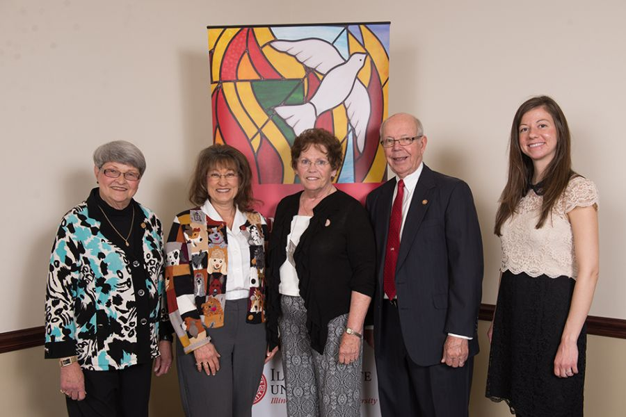 Nursing award recipients