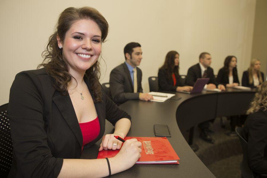 Krista Bicer at a COB event