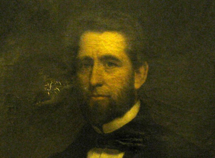 Portrait of Charles Hovey