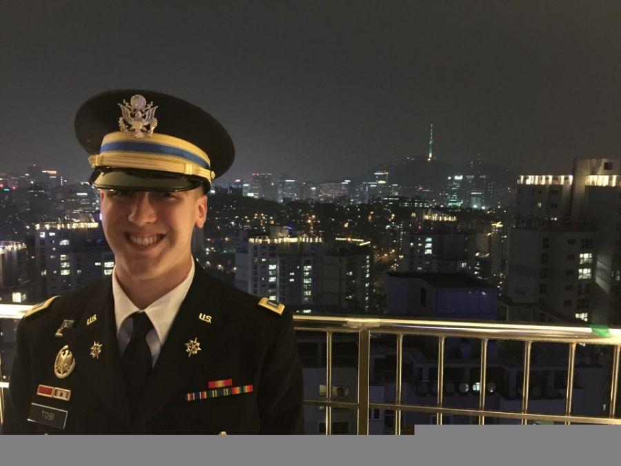 Scott Tosi in South Korea