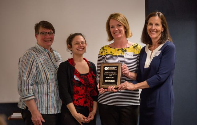 image of Walk the Talk winners from Communication Sciences and Disorders