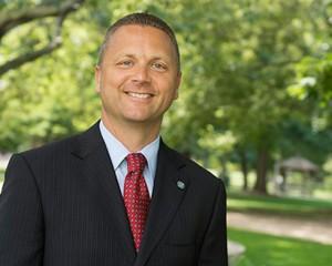 image of Vice President of University Advancement Pat Vickerman