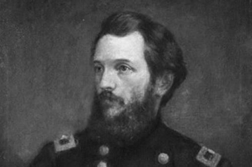 Charles Hovey in Civil War uniform