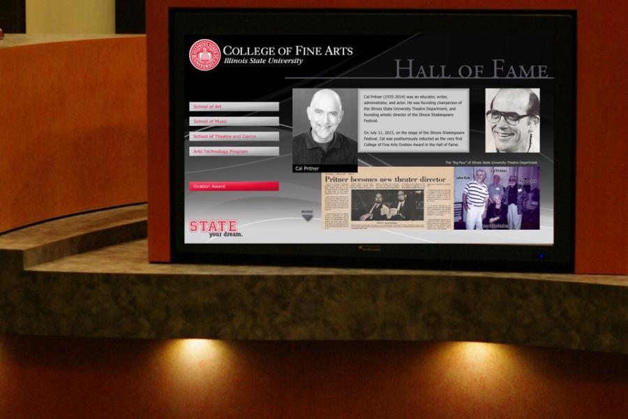 Cal Pritner Hall of Fame entry