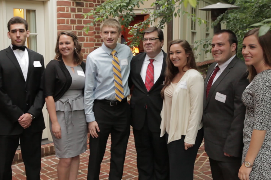 Dietz with D.C. interns