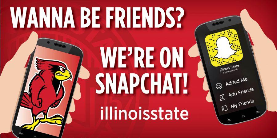 """""""illinoisstate"""" on Snapchat"""