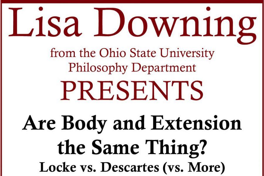 Lisa Downing Colloquium