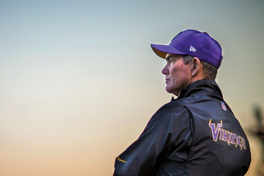 Mike Zimmer at sunset