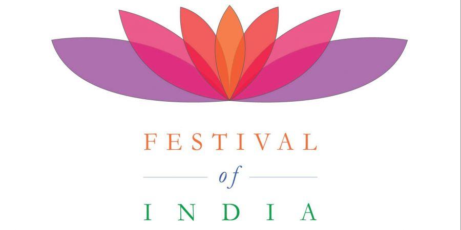 logo for Festival of India