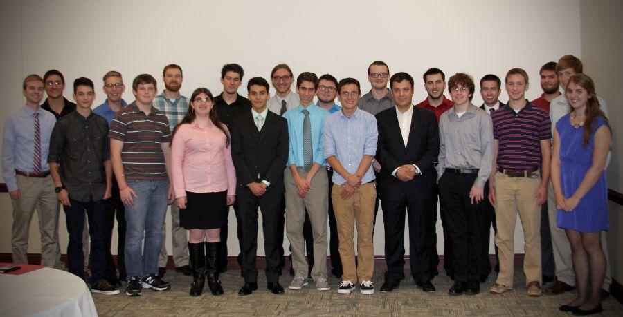 School of IT scholarship recipients