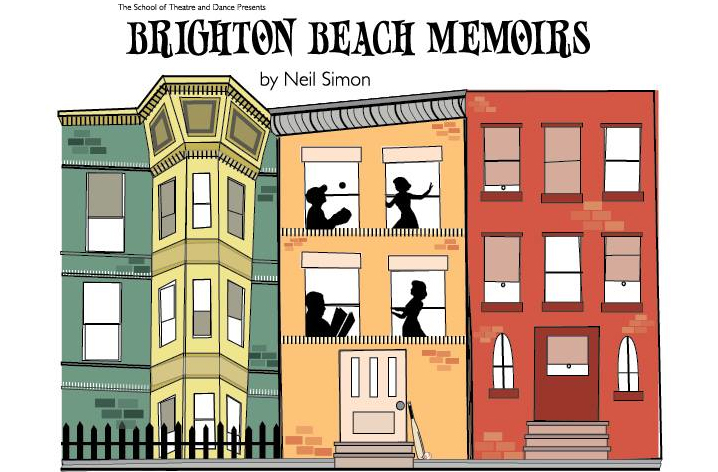 image from poster for Brighton Beach Memoirs at Illinois State Universtiy