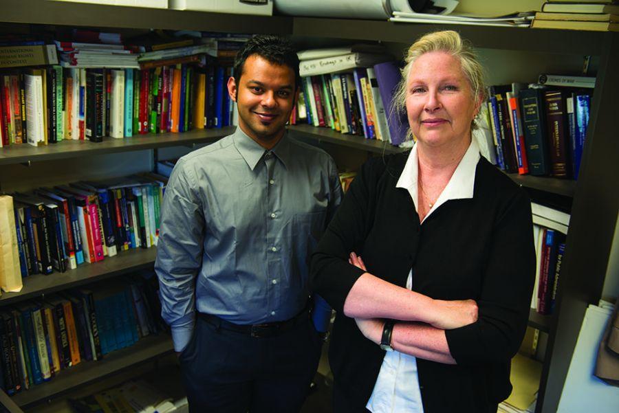 E-government researchers Arafat Kabir and Professor Michaelene Cox