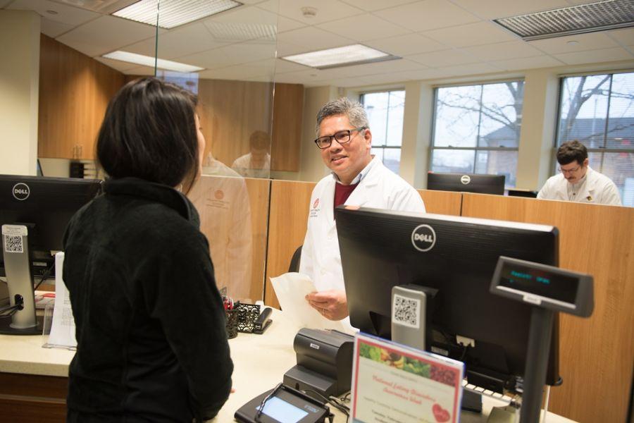 SHS pharmacy supervisor helps student receive medication