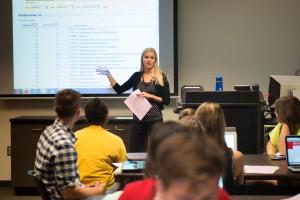 Laureen teaches Career Choice class