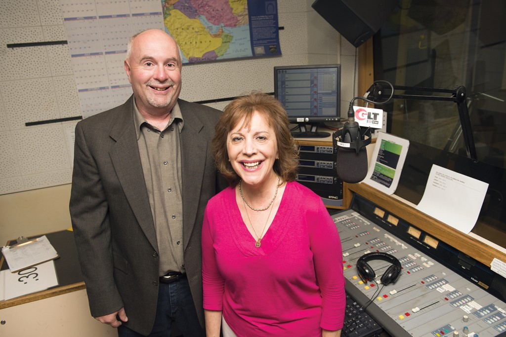 Jon Norton and Judy Valente