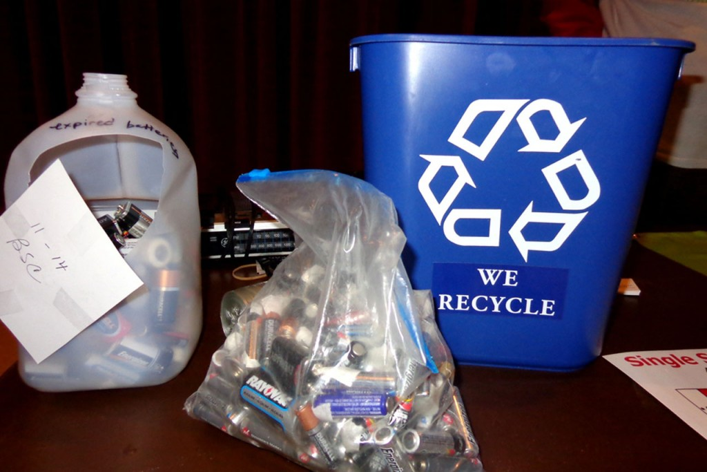 Recycled items