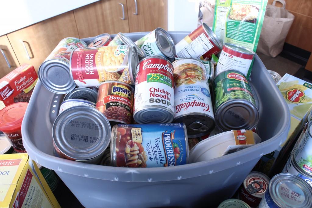 Food Drive bucket