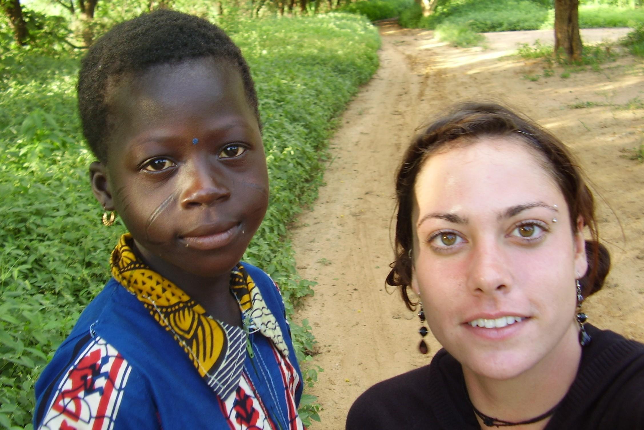 Nancy Ouedraogo in Burkina Faso