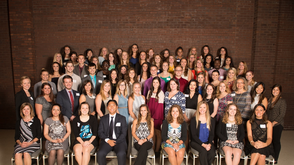 Students at the MCN Scholarship and Awards Banquet