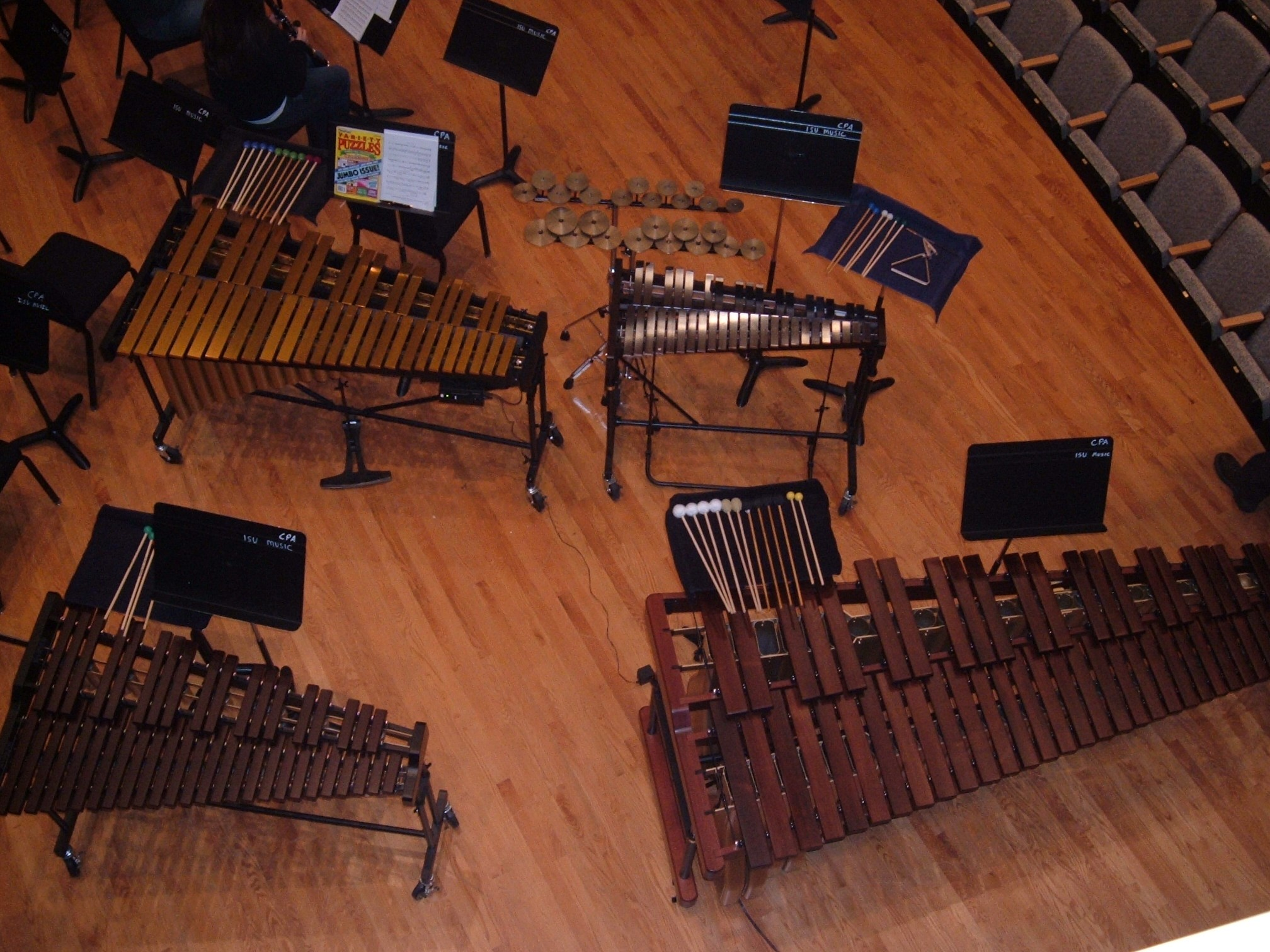 photo of percussion instruments