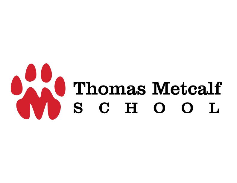 Thomas Metcalf School Identity logo