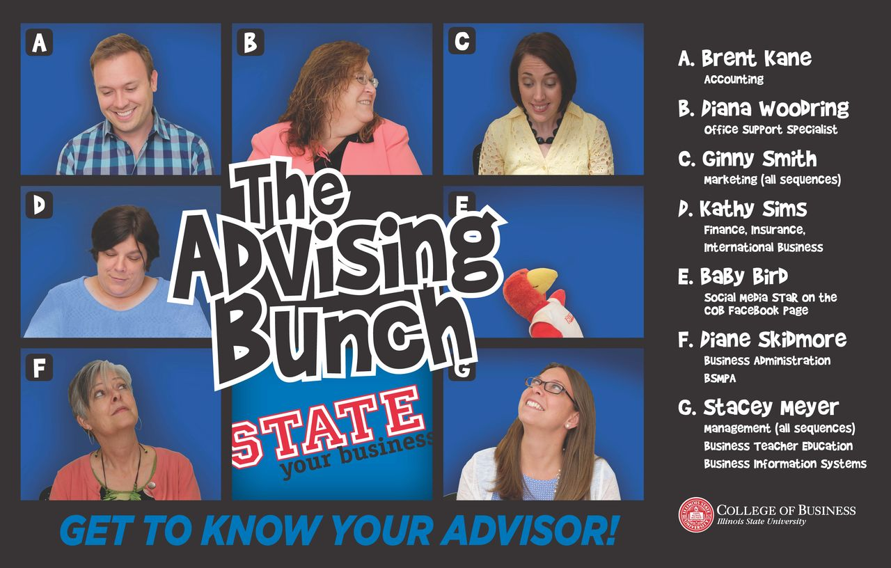 College of Business academic advising staff