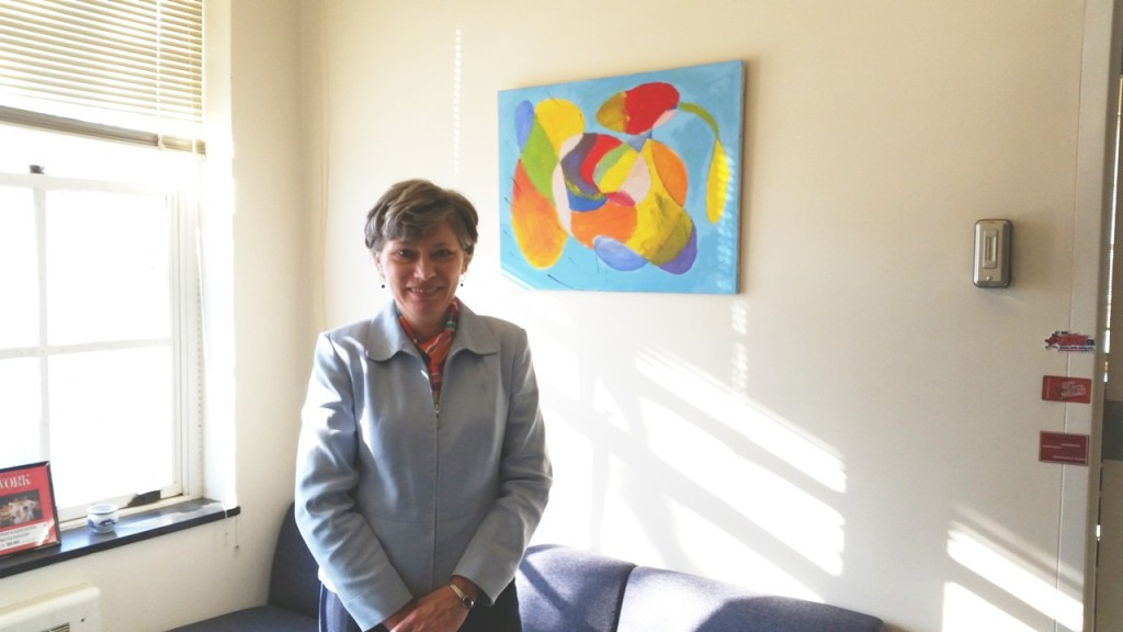 School of Social Work Chair Diane Zosky