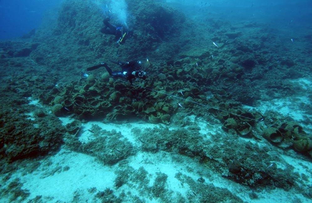 image of Aegean shipwrecks