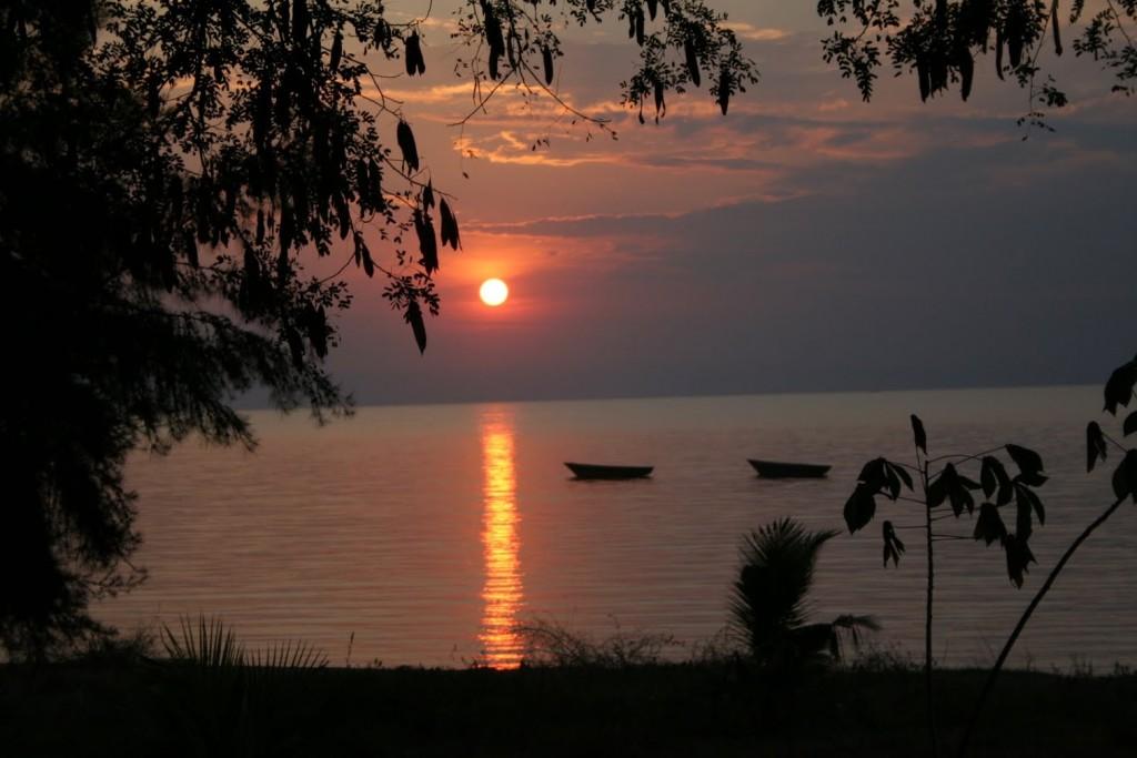image of Lake Tanganyika in East Africa