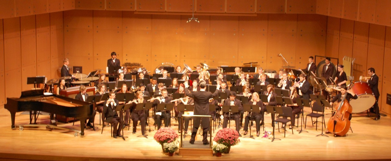 ISU Wind Symphony in action
