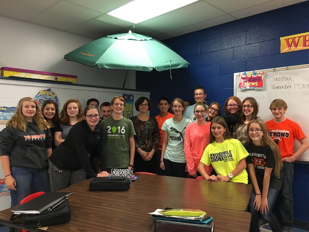 Photo of 8th Grade Class