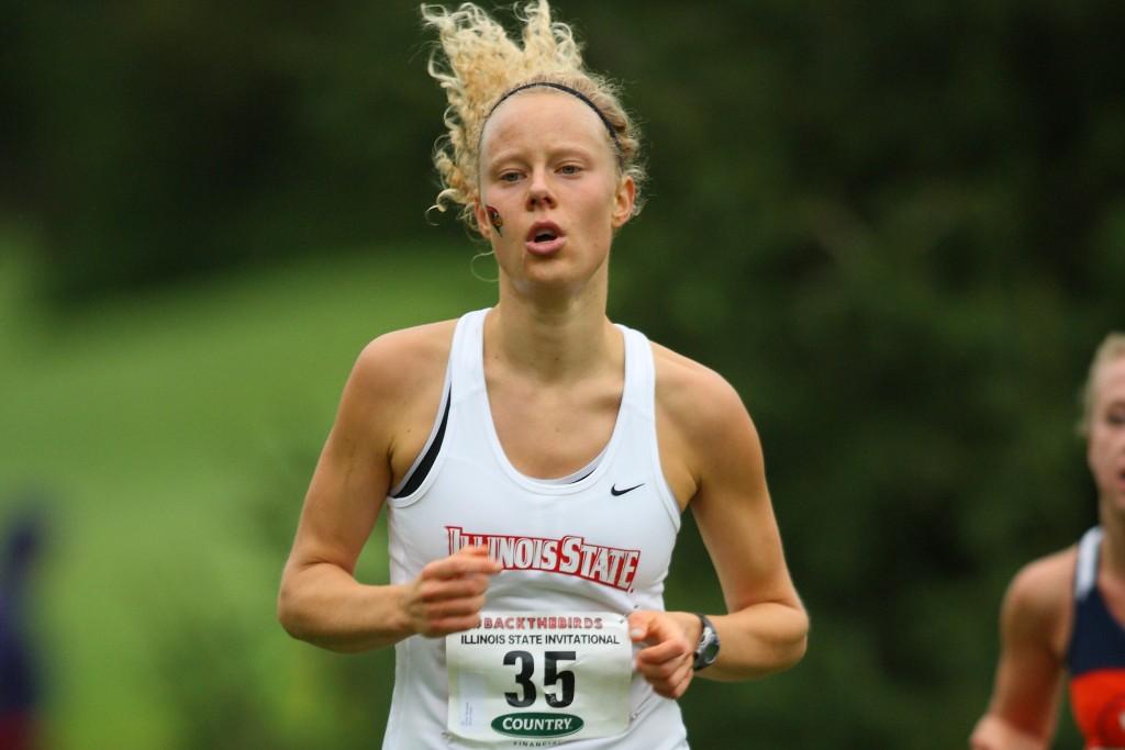 Krista DeCeault runs