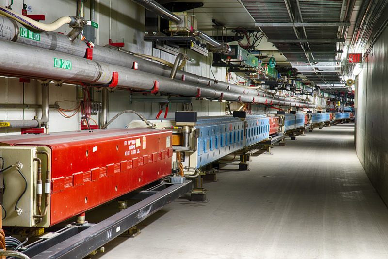 image from Inside Fermilab's Main Injector accelerator